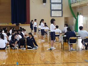 鹿児島県立鹿児島中央高等学校身体測定