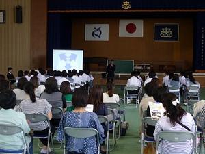 鹿児島県立鹿児島中央高等学校高校説明会(市来中学校)