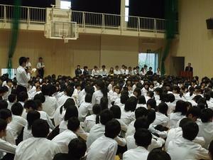 鹿児島県立鹿児島中央高等学校生徒会総会